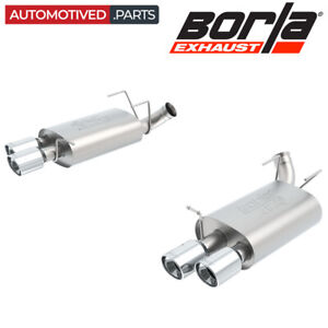 Borla 11831 Atak Cat Back Exhaust For 2013 2014 Ford Mustang Shelby Gt500 5 8 V8