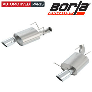 Borla 11837 S Type Axle Back Exhaust For 13 14 Ford Mustang Gt Boss 302 5 0 V8