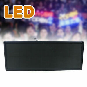 Rgb P5 Led Sign Scrolling Message Display 12 x38 Full Color Programmable 110v