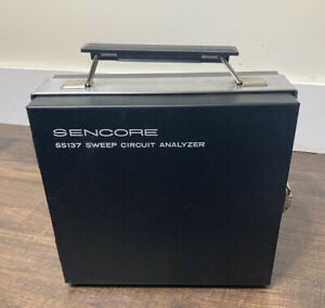 Sencore Ss137 Tv Sweep Circuit Analyzer Great Working Condition