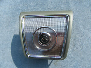 1965 1966 1967 Chevy Impala Rear Seat Speaker Grille Cover Housing Gm
