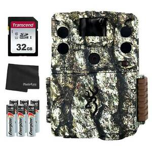 Browning Command Ops Elite 18MP Trail Camera 32GB SD Card Batteries amp; Cloth $99.99