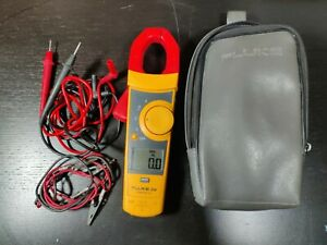 Fluke 334 Clamp Meter W Case Leads And Alligator Clip Extention