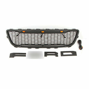Raptor Style Grille For1999 2003 Ford F150 Bumper Grill With Lights Letters