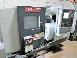 Yama Seiki goodway Gls2000lms Cnc Turning Center Lathe With Live Tools And Sub