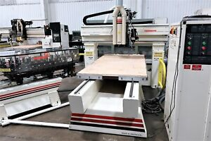 5 x10 Thermwood Model C 40 3 axis Cnc Router With Extrended Z axis