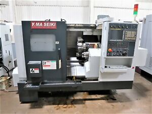 Yama Seiki goodway Gls1500lms Cnc Turning Center Lathe With Live Tools And Sub