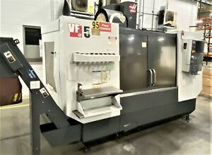 Haas Vf 5 40 4 5 Axis Cnc Vertical Machining Center With Dual 4th Axis Rotary Ta