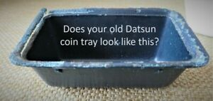 Centre Console Coin Tray Suitable For Datsun Nissan 280zx