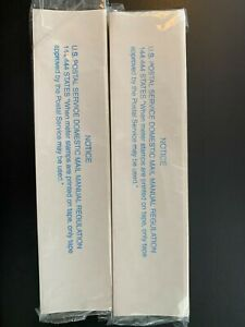 198 Pitney Bowes Compatible Postage Strips Perforated Tapes 300 7 Free Ship