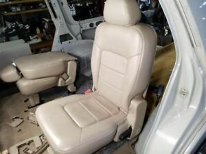 Second Row Left Tan Leather Captains Chair Seat Fits 04 05 06 Ford Expedition