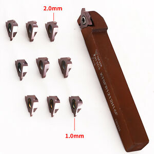 Micro Lathe Grooving Tool Grooving Blade Suitable For Shallow Grooving Tgf32r200