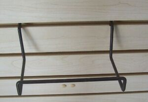 Store Fixture Supplies 2 Horizontal Bars Or Easels For Slatwall 6 5 Wide