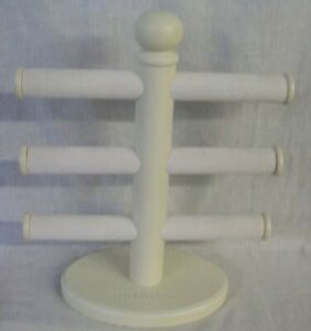 Store Display Fixtures Counter Top Display Tri level Bracelet Display White 16