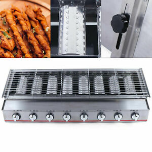 Commercial Lpg Gas Bbq Grill With 8 Burners Portable Gas Barbecues Griddle