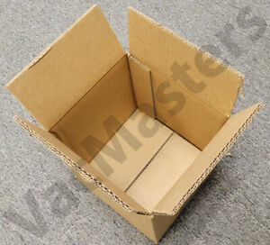 6 Heavy Duty 8 X 8 X 8 Shipping Boxes 48 Ect Double Wall 080808hddw