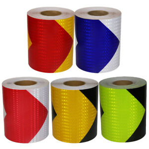 Reflective Safety Adhesive Tape Outdoor High Visibility Hazard Caution Warning