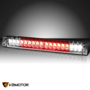 Fits 1997 2003 Ford F150 98 99 F250 Clear Led Third Brake Light 3rd Cargo Lamp