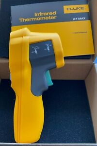 Fluke 67 Max Clinical Infrared Thermometer New In Box