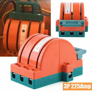 225a 50hz Disconnect Switch 3 Pole Breaker Backup Circuit Generator Knife Switch