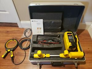 Vivax Metrotech Vm 810 Pipe Cable Locator Utility Sub Ground Scanner Depth Clamp