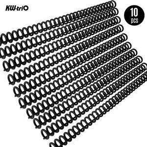 Kw trio 10pcs 30 hole Loose Binders Binding Spines Combs O3q7