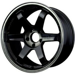 Rays Volk Te37sl 19x105j 22 Black Set Of 4 For R32r33r34 Gt R From Japan