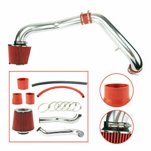 Red For 96 00 Honda Civic Cx Dx Lx 1 6l L4 Cold Air Intake Kit Filter