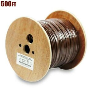 500ft 18 3 Unshielded Cmr Heating Air Conditioning Hvac Ac Thermostat Wire Cable