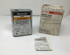 New Oem Honeywell R845a 1030 120 Volt Switching Relay Free Ship