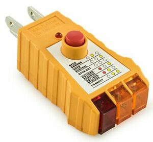 Socket Tester With Gfci Check Receptacle Tester For Standard Ac Outlets