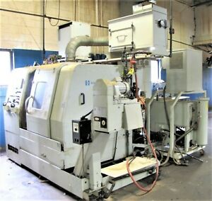 Hardinge Quest 6 42 3 axis Cnc Turning Center Lathe With Live Tooling