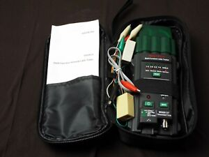 Ms6813 Mastech Network Telephone Coaxial Cable Tester Multifunctional Detector