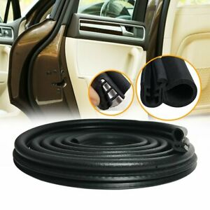 Seal Strip Trim Car Front Windshield Sunroof Weatherstrip Rubber Stainless Steel