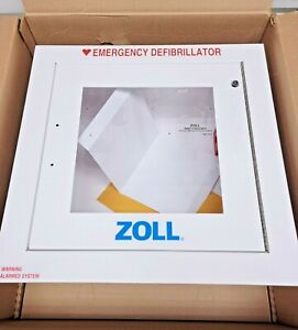 New Zoll 8000 0811 Fully Recessed Wall Mounting Cabinet For Aed Plus