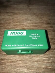 RCBS by L. E. Wilson 09349 Burring Tool Made in USA Reloading Equipment $14.96