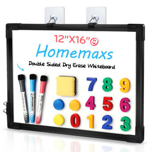 Homemaxs Dry Erase Board Magnetic Double Sided For Kids Drawing Office Planner