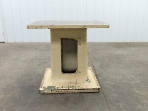 24x33x30 5 Steel Machine Base Welding Work Bench Table 1 3 machined Surface Top