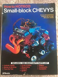 Vtg 1976 How To Hotrod Small Block Chevys 265 400cc Engine Manual Fisher Waar