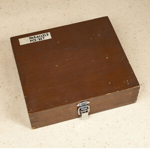 Boxed Set Of Machinist s Parallels 1 8 X 6 X 0 5 To 1 625