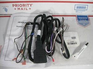 Western 61438 Fisher 8246 9 Pin Plow Side Oem Relay Type Control Light Harness