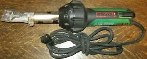 Leister Triac St 141 228 Hot Air Tool Plastic Welder With 40mm Nozzle