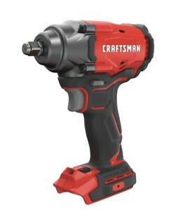 Craftsman V20 Brushless 38 Drive Impact Wrench Tool Only New 165 Max Torque