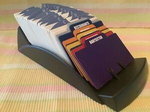 Rolodex V glide 9 1 4x 4 1 2 W 4x2 1 4 Index Cards Dividers Ships Free