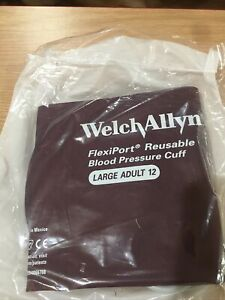 Welch Allyn Blood Pressure Cuff Reusable Large Adult reuse 12 New