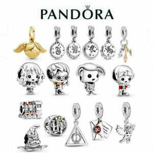 New Genuine Pandora Harry Potter Charm S925 Ale Sterling Silver Amp With Gift Bag