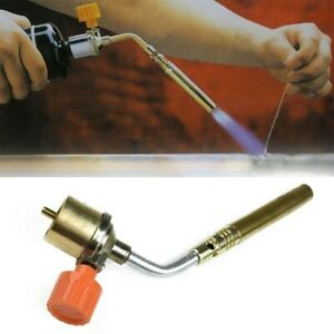 Gas Welding Torch Gas Ignition Plumbing Turbo Torch Brazing Welding Hot
