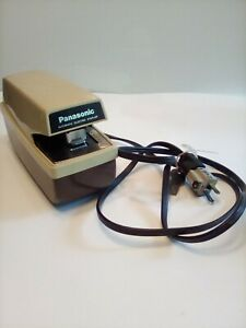 Vintage Panasonic As 202 Automatic Electric Commercial Stapler Tested Working