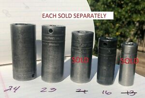 Snap On Metric Deep Impact Socket 3 8 Drive 6 Point Simfm Sold Separately