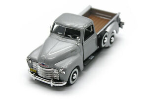 1950 Chevy 3100 Pick Up 143 Rare Loose Silver Diecast By Hongwell 25007